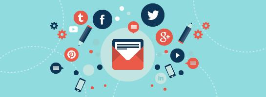 Social_email_marketing_flat