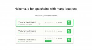 Hakema multi location booking widget