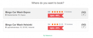 Hakema Release Notes - Customer can see active discount before making a booking